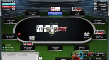 betonline poker table