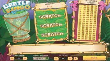 Beetle Bingo Scratch