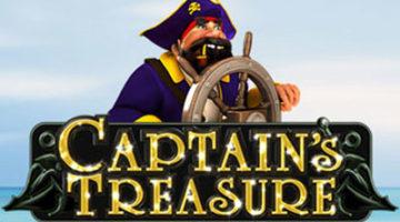 Captains Treasure jackpot slot