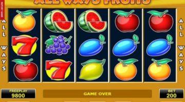 Always Fruits slot Amatic Amanet