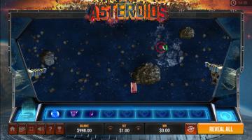 Atari Asteroids instant win casino game