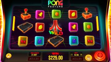 Atari Pong slot