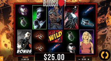 Bloodshot slot Valiant Comics