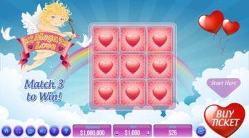 Mega Love scratch game