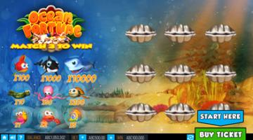 Ocean Fortune online scratch game