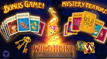 Wild Heist at Peacock Manor slot Thunderkick