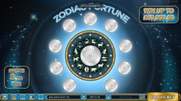 Zodiac Fortune scratch cards
