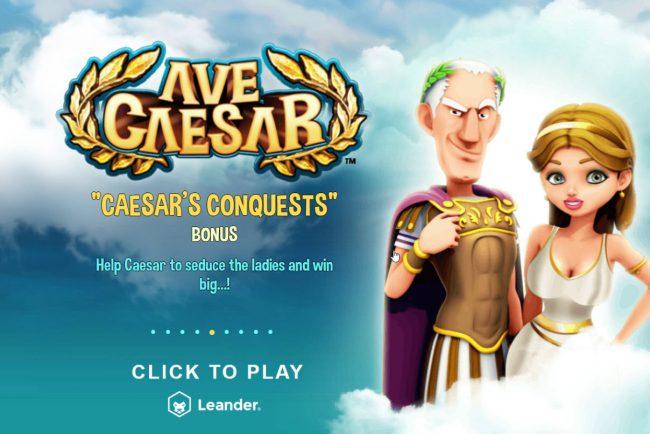 Ave Caesar slot leander