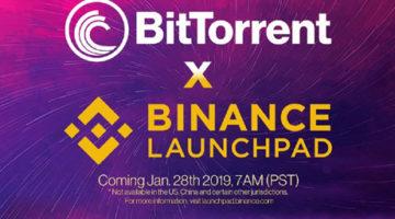Binance-Launchpad-Bittorrent-token-sale