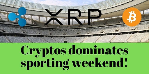 Cryptos-dominates-sporting-weekend
