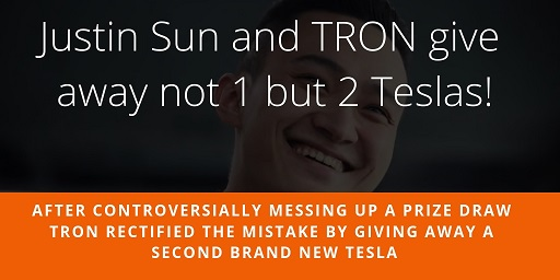 Justin-Sun-and-TRON-give-away-not-1-but-2-Teslas