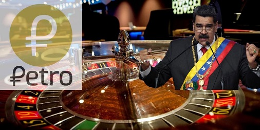 Maduro-authorizes-a-crypto-casino-in-Caracas-that-will-run-on-Petro
