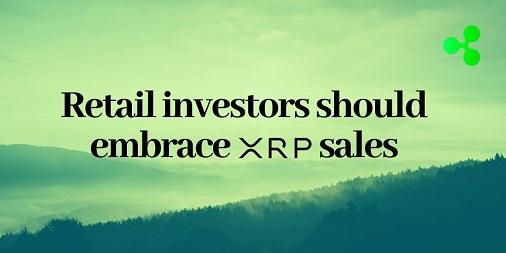 Retail-investors-should-embrace-XRP-sales