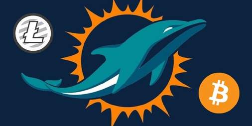 litecoin-partners-with-miami-dolphins