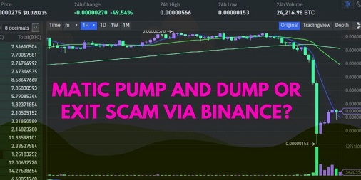 matic-pump-and-dump-or-exit-scam-via-binance