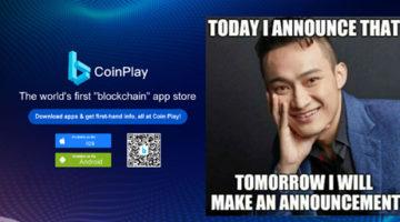 tron-coinplay-announcement-justin-sun