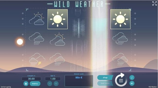 wild weather slot tom horn